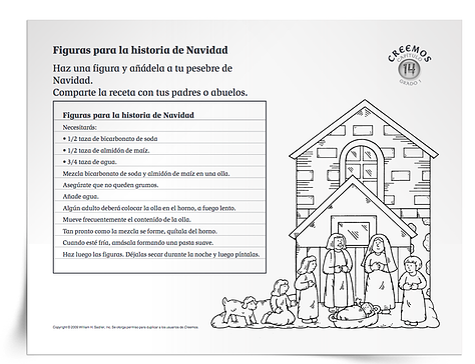 Actividades Y Oraciones Sobre La Navidad Para Clases De Educacion