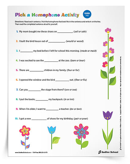 Printable Grammar Worksheets Students Can Use At Home