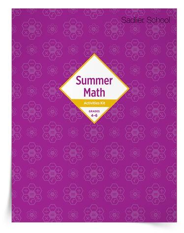 Printable Summer Math Worksheets for Grades 4–6