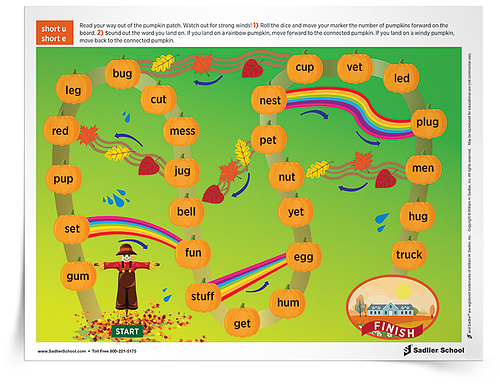 Pumpkin Patch Phonics Game