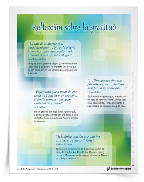 Oraciones de Acción de Gracias para niños y familias católicos