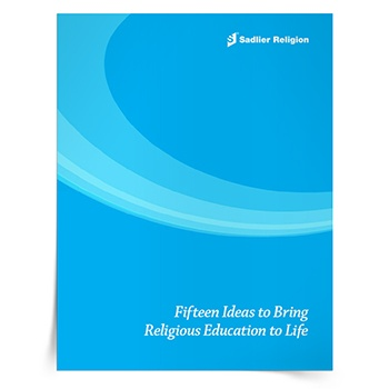 Whether your Catholic Religious Education program is just gearing up again or you are looking for new ideas to invigorate your existing program, this exclusive eBook will offer inspiration with fifteen tips for bringing Religious Education to Life. The ideas in this eBook will be invaluable for new parish catechetical leaders.