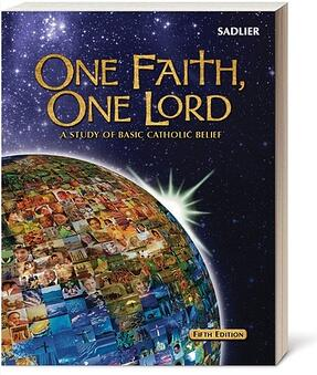 For older students (beginning in grade 7) and adults, One Faith, One Lord helps develop knowledge of basic Catholic beliefs. Like Our Catholic Faith, this catch-up program is a single volume text that presents fundamental beliefs and practices of the Catholic faith.