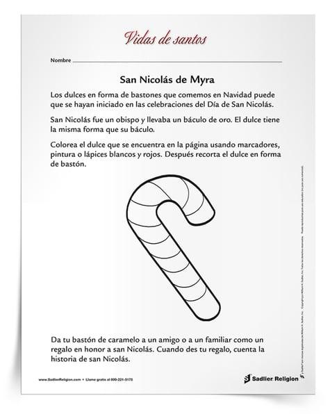 Actividad de San Nicolás de Myra
