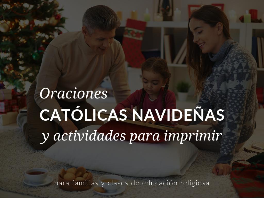 En este artículo, descubrirá increíbles actividades y oraciones sobre navidad para clases de educación religiosa y familias católicas