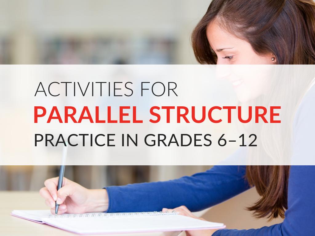 activities-for-parallel-structure-practice