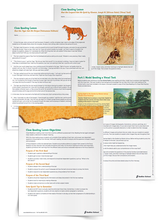 animal-myths-close-reading-lesson-plan-worksheets-pdf