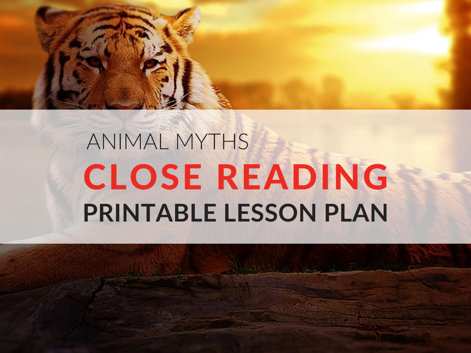 animal-myths-close-reading-lesson-plan