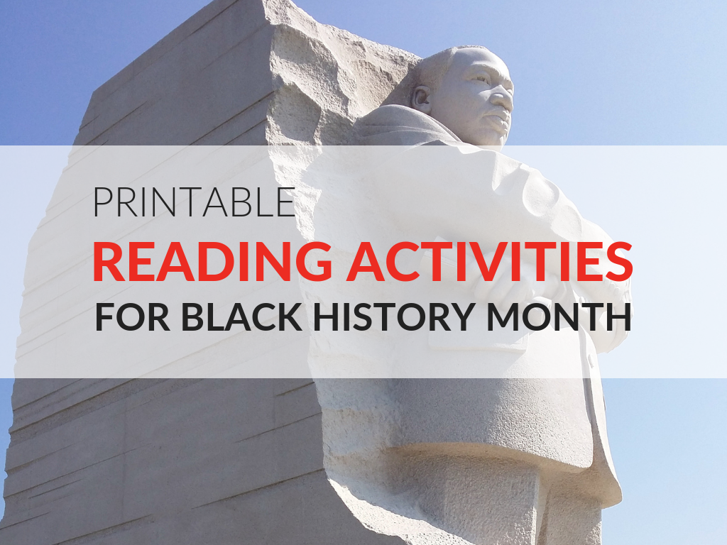 6 Black History Month Printable Activities