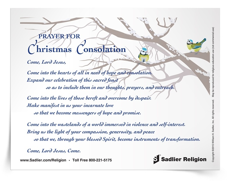 graphic relating to Printable Catholic Prayers called 8 Printable Catholic Xmas Prayers