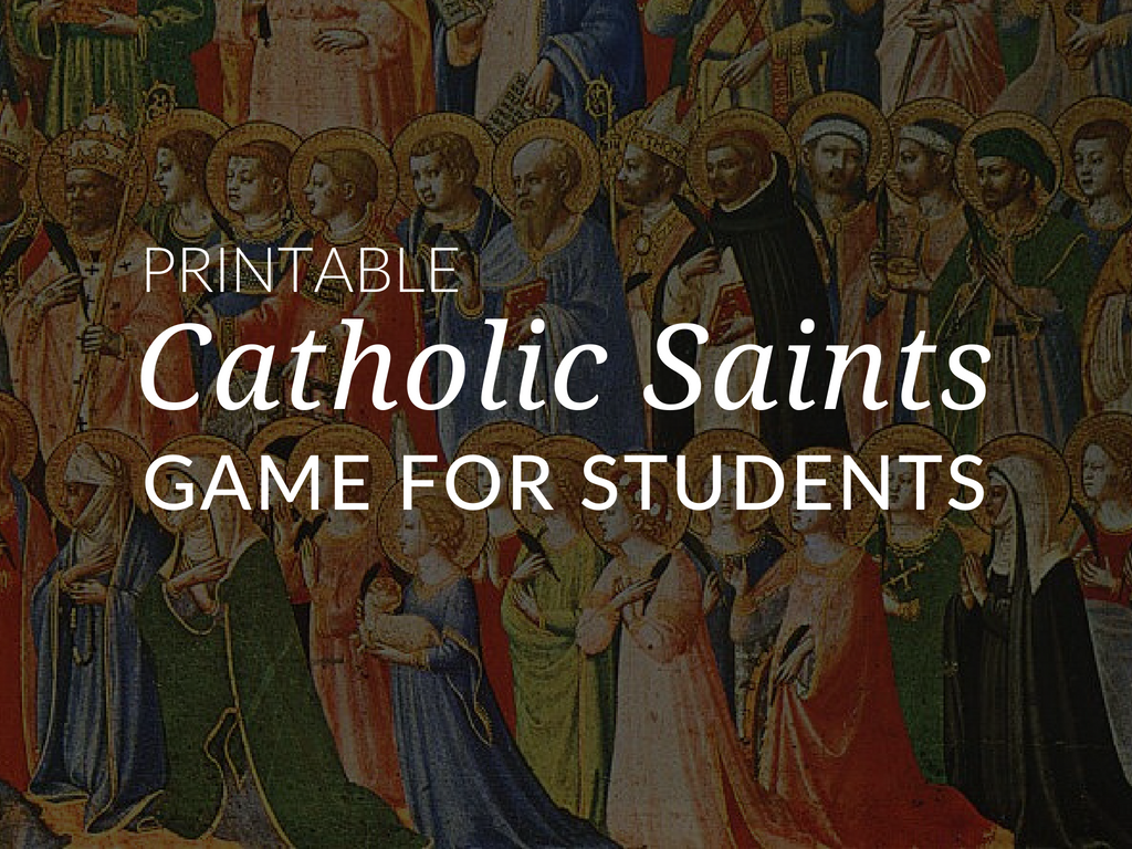 During the season of Ordinary Time, we learn about the saints. To celebrate the saints and our greatest saint during Ordinary Time, download a Saints Card Game Activity to share with the students in your religious education program. This download is a kit to create a deck of playing cards featuring the images and names of some of the saints of our faith.
