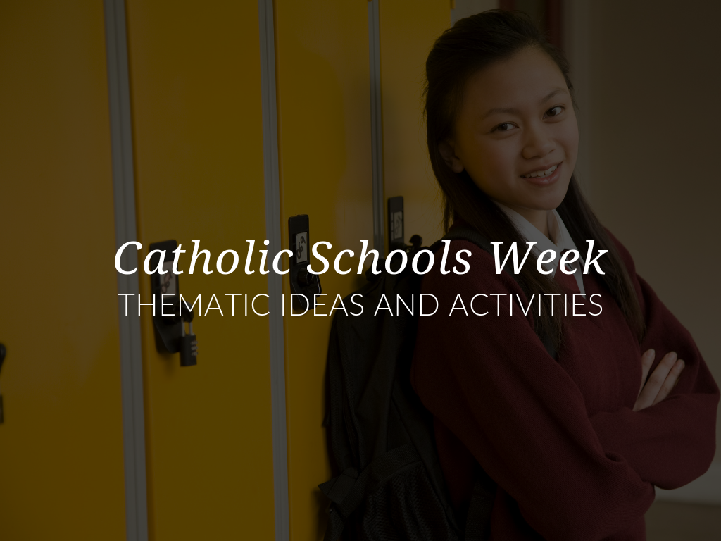 These Catholic Schools Week ideas will be a valuable resource as you prepare to celebrate the rich traditions and the incredible value of Catholic education. We've also compiled thematic Catholic Schools Week activities that can be downloaded for FREE and will enhance your school or parish celebrations!