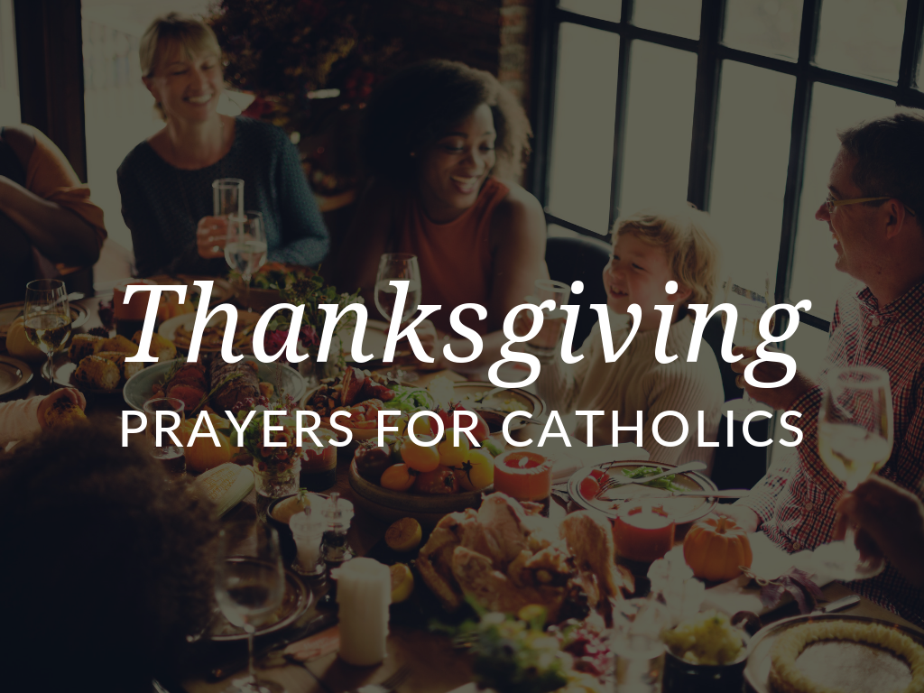 As families gather to share a meal and express gratitude for their many blessings this Thanksgiving, they have the opportunity to pray. With these prayers of thanksgiving, printable activities, and reflections, Catholic kids and families can enhance their practice of gratitude. Downloads available in English and Spanish!