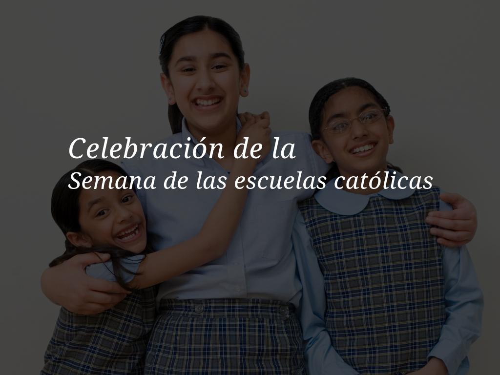 Explore a continuación las actividades y los recursos de la Semana de las escuelas católicas que mejorarán sus celebraciones cada día durante la Semana de las escuelas católicas 2019.