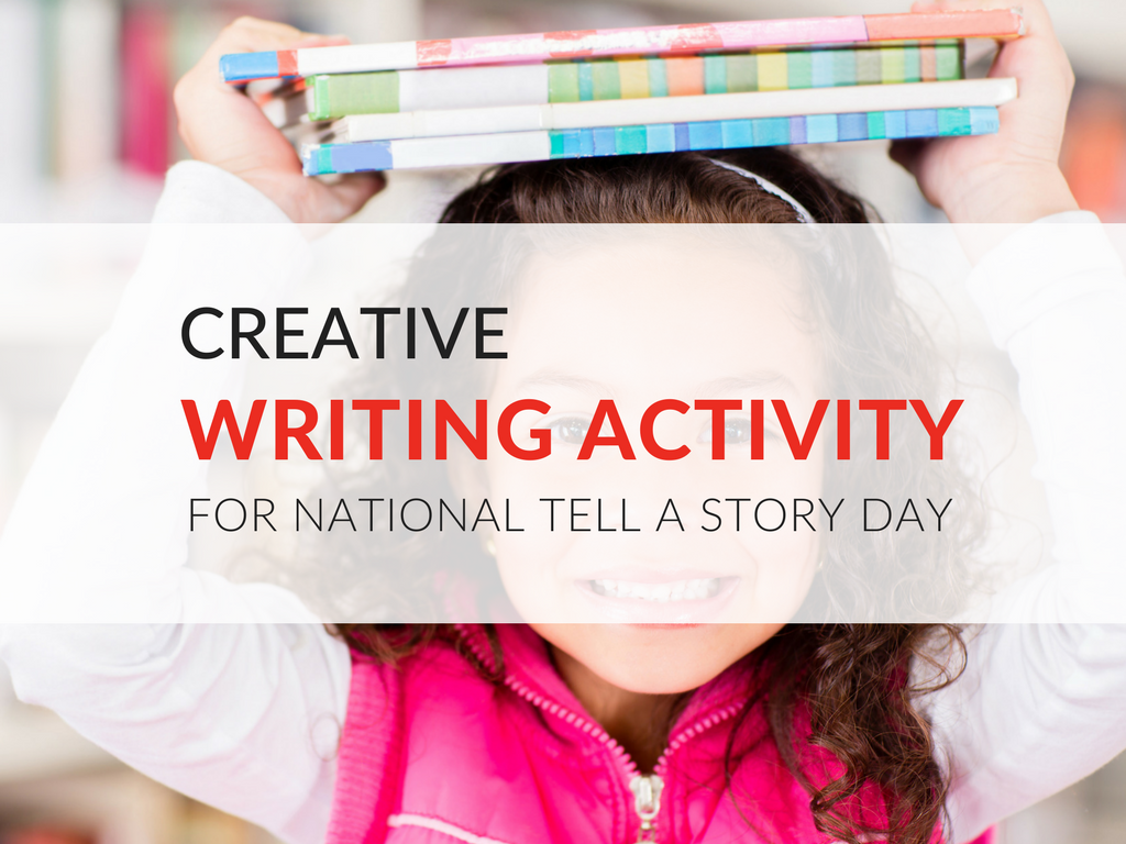 Have students write short stories as part of your storytelling celebrations this April 27th! Download the Tell A Story Creative Writing Activity now. creative-writing-activity-for-elementary-students