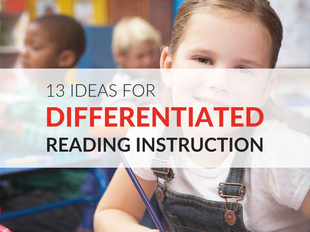 In this article, we'll explore differentiated instruction in the classroom and opportunities to incorporate it in to lessons. Also, available for download is a tip sheet with 13 ideas for differentiated reading instruction in the elementary classroom.