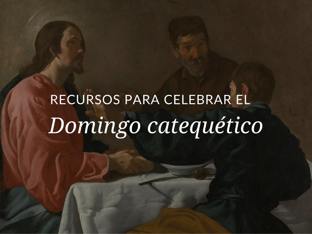 Este año el Domingo catequético es el 15 de septiembre de 2019. Descargue un exclusivo Kit del Domingo catequético 2019.
