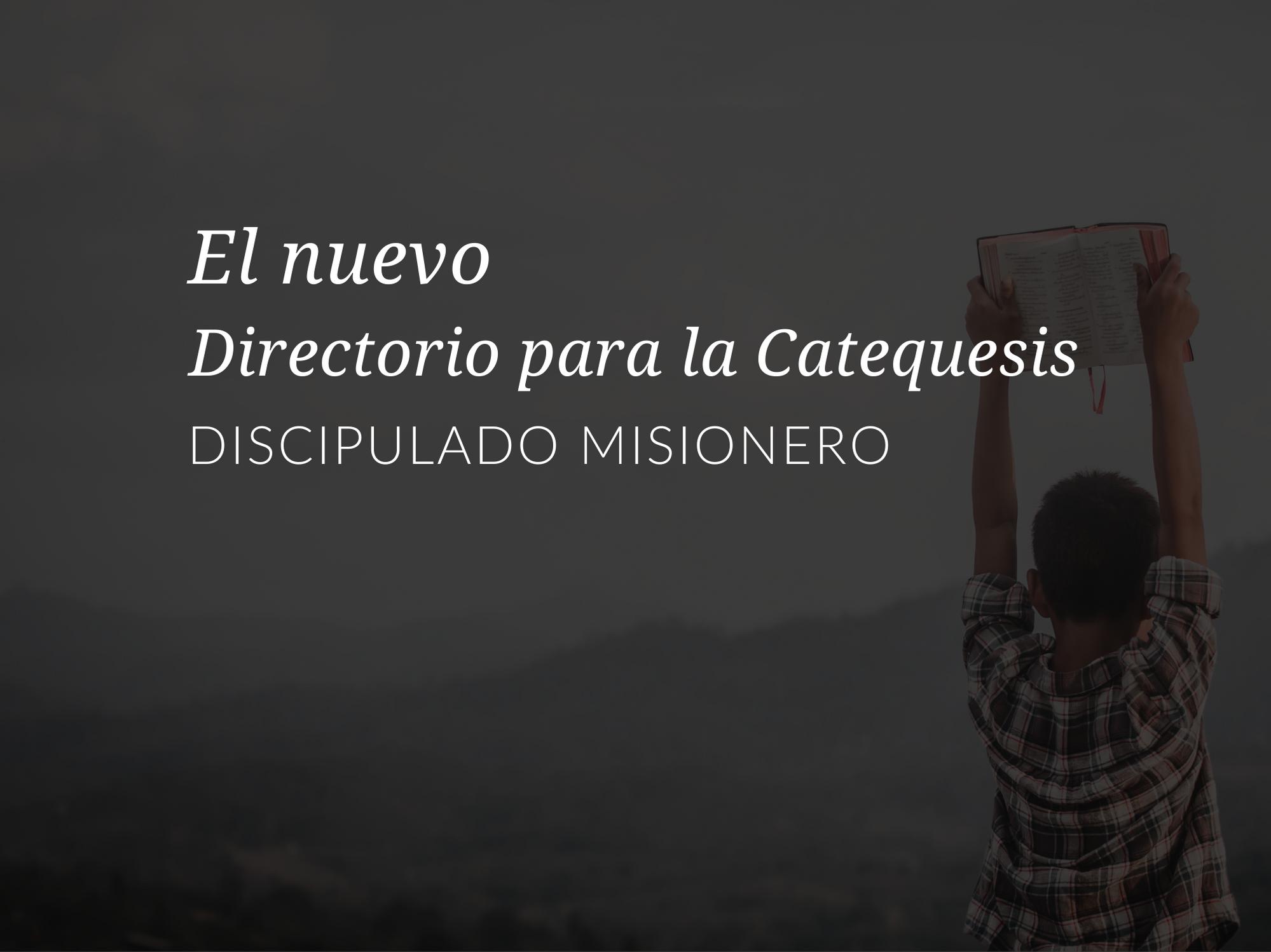 el-nuevo-directorio-para-la-catequesis-discipulado-misionero