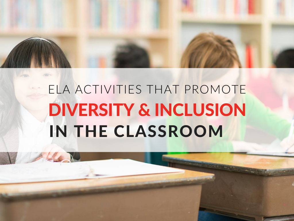 Download 5 free ELA activities that promote diversity in the classroom.