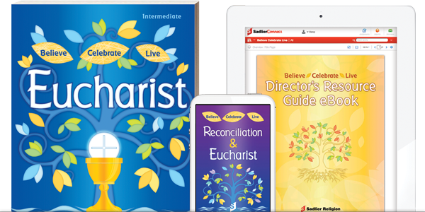 You'll find embedded support, tips, and adaptations to help you celebrate inclusion within Sadlier's transformative sacramental preparation programs, Believe •Celebrate • Live Reconciliation and Eucharist, via the print and digital versions or the innovative program app.