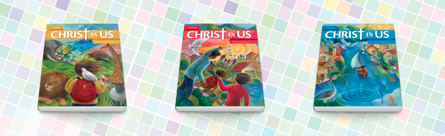 Discover how Christ In Us, the new K–6 blended learning catechetical program, supports an encounter with Christ!