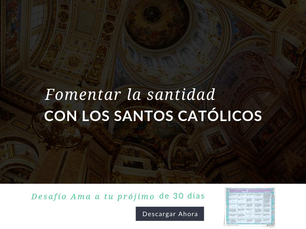 Aprenda a utilizar el Desafío Ama a tu prójimo de 30 días en su programa de educación religiosa para ayudar a los participantes a crecer en santidad como los santos. Descarga disponible en español y en inglés.