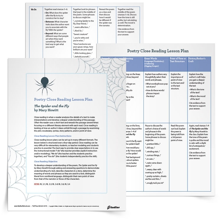 Halloween Reading Comprehension Worksheets and Close Reading Lesson – Halloween Comprehension Worksheets