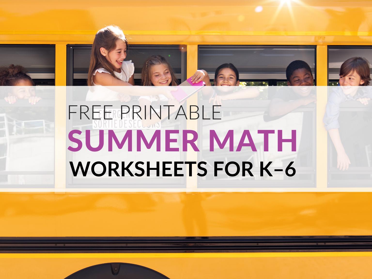 free-summer-math-worksheets-summer-math-packets
