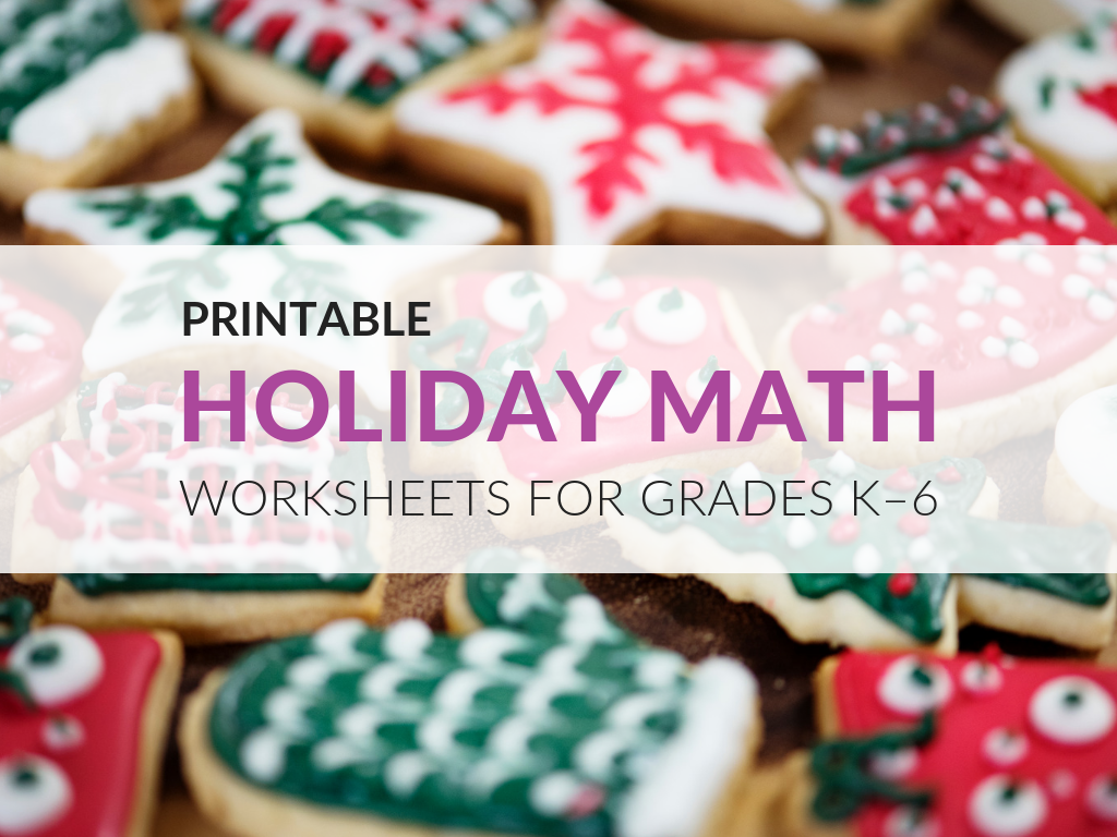 As the holidays approach it's always nice to come up with some themed problems for your students to solve in math class. I'm excited to offer these sets of holiday math worksheets organized by grade level. These are great problems from the Sadlier archives that contain strong math content. While they are organized by grade level, you could use these printable holiday math worksheets across grades to differentiate for the various ability levels in your math class.