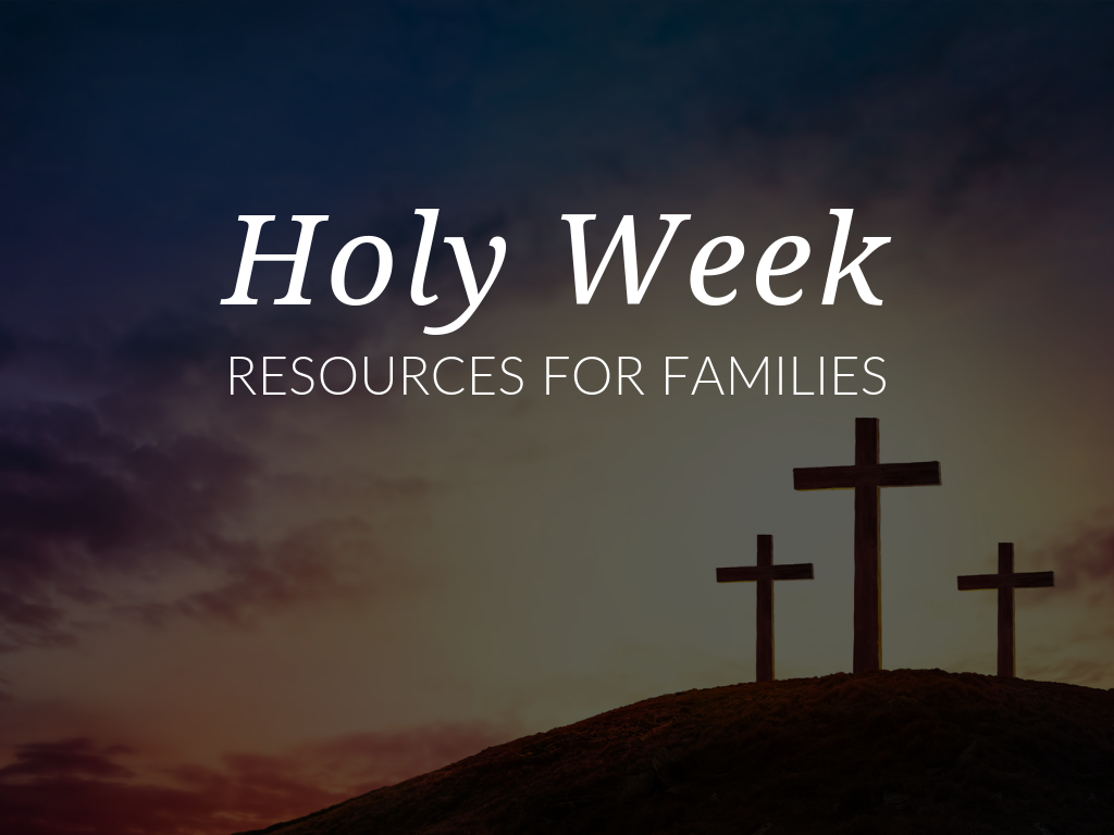 It's almost Holy Week, a time-honored rite that celebrates life arising from death and the brilliance emerging from places of desolation and despair. Use these Holy Week resources to prepare for and celebrate the final week of Lent.