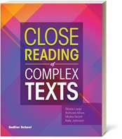 Close Reading of Complex Texts