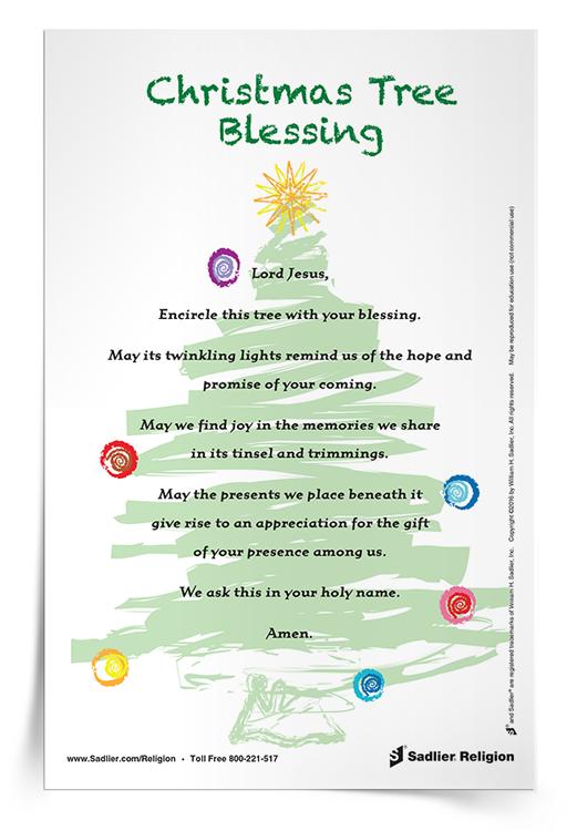 Christmas Tree Blessing