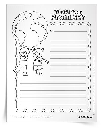 Earth Day Writing Activities for Students earth-day-writing-activities-whats-your-promise-750px