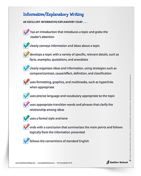 informative-explanatory-writing-essay-checklist