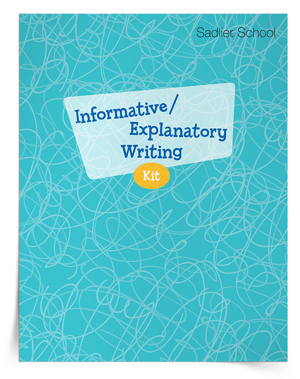 Download a kit of resources that will help students improve their informative/explanatory writing skills.