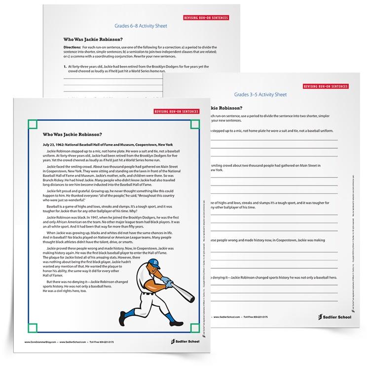 35 Printable Grammar Worksheets That Improve Students' Writing At Home