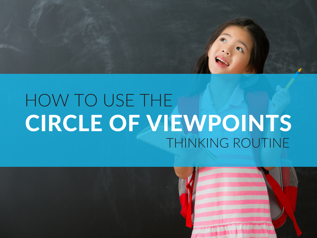 The Circle of Viewpoints encourages students to think about different perspectives. It helps them to understand that people may think or feel differently from them about the same topic or idea. Download these literacy-inspired Circle of Viewpoints templates.