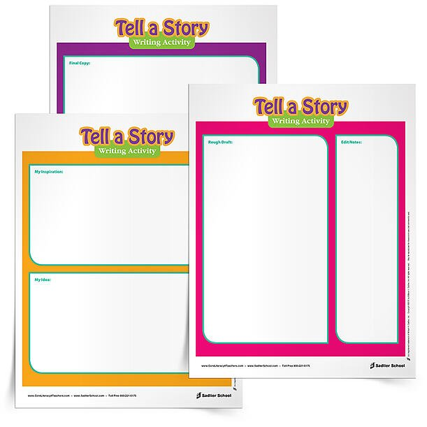 WRITING A SHORT STORY LESSON PLAN - National Tell a Story Day is celebrated on April 27th. Invite students to write a story of their own that they will then tell to a classmate in honor of National Tell A Story Day. Use the Tell A Story Writing Activity to assist students in brainstorming and writing their own stories. creative-writing-activity-tell-a-story-day-750px.jpg