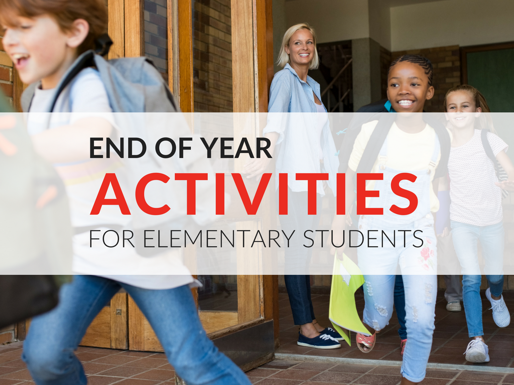 As the school year comes to a close, it is important to honor our students' hard work and accomplishments. Here are a few of the end of year activities for elementary students I use in May and June.