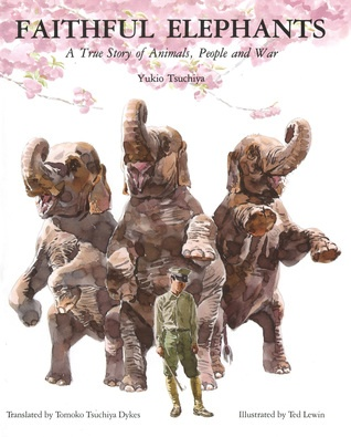 Here are examples of text-dependent questions and passages from Faithful Elephants: A True Story of Animals, People, and War by Yukio Tsuchiya.