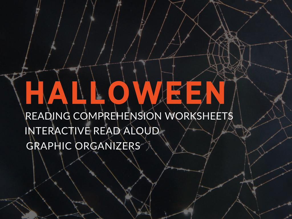 Add some spooktacular elements to your classroom curriculum with my free halloween reading comprehension worksheets, book suggestions, and close reading lesson plan.