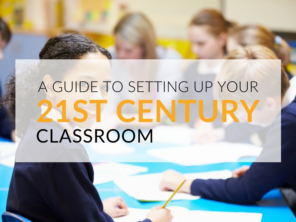 The 21st century classroom structure aims to create a productive environment in which teachers are facilitators of learning and students can develop the necessary skills to be successful in the workplace.