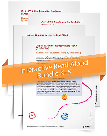 Back to school interactive read aloud lesson plan bundle for Interactive read aloud lesson plan template