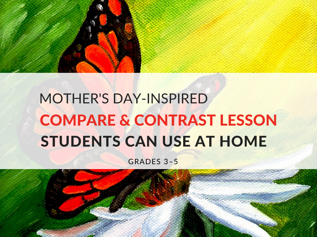 Review reading comprehension strategies with my Mother's Day-inspired compare and contrast lesson. Although this compare and contrast lesson was inspired by Mother's Day, I use the readings and activities to celebrate the mothers and caretakers in our lives.