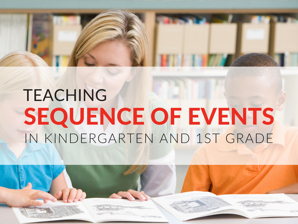 TEACHING SEQUENCE OF EVENTS  Sequencing may sound like a simple skill, but for many primary grade-level students, organizing the events of a story takes practice. Two of my favorite books for introducing and teaching sequencing are The Mitten with The Hat by Jan Brett. I've used these two classic books so much when teaching sequencing of events that I've created two free sequencing worksheets for kingergarten and grade 1 students!
