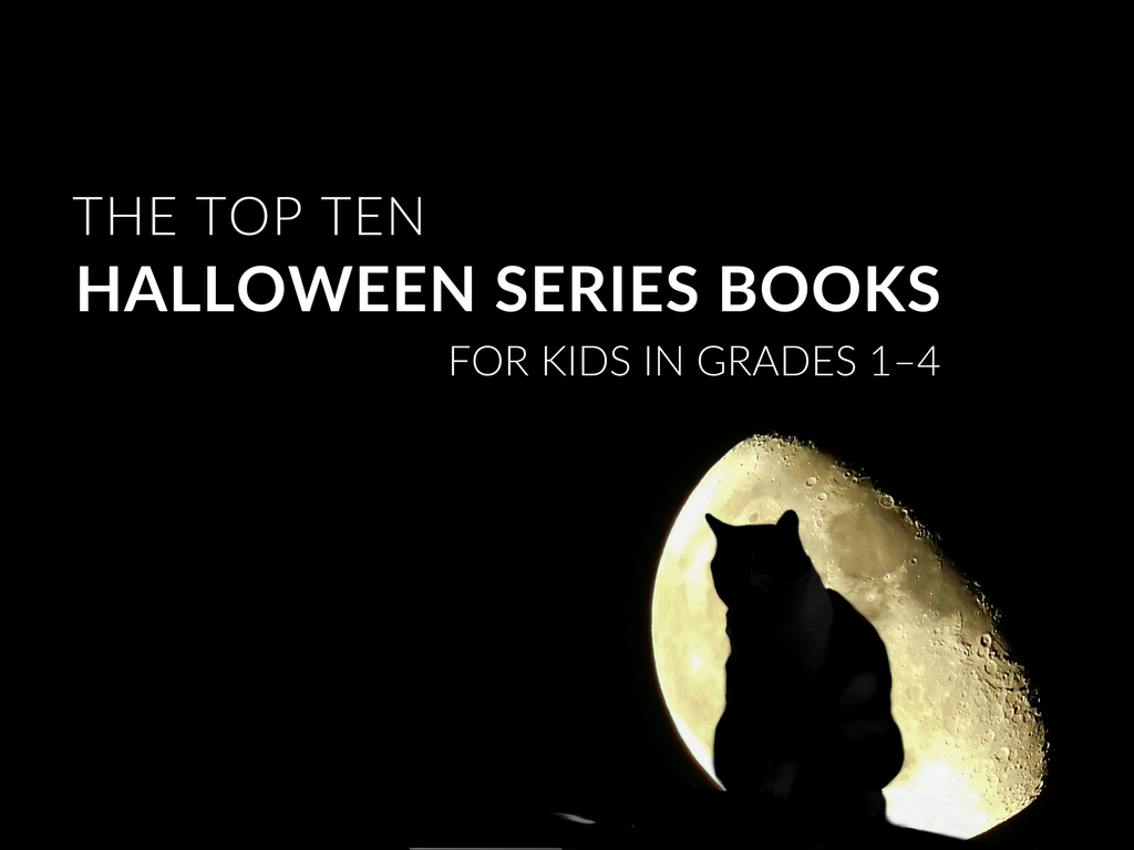 Teachers and parents can get students reading more by introducing book series! For the month of October, I have selected several fun Halloween series books to share with my students. Below is a list of my top 10 Halloween series books for grades 1-4.