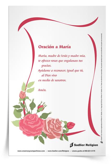 Oraciones a María