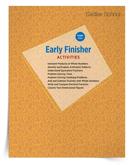 I've compiled an early finisher worksheets Kit for grades 3–4. This kit contains eight early finisher math activities that will engage students in mathematical learning!