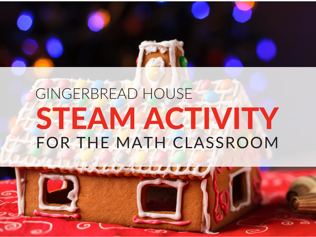 With the call for STEAM activities increasing, we find ourselves under pressure to come up with fun, meaningful, and content-rich projects. During the holiday season there is the additional challenge of being culturally sensitive with the various religious holidays that we can neither embrace nor avoid.  The Gingerbread House STEAM Activity is seasonal, interesting to students, and has the potential for you to assess their ability to meet standards. Here's how to use the Gingerbread House STEAM activity... activities-for-steam-math-project-holiday-math-activities.png