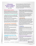 5-Strategies-to-Help-Struggling-Math-Learners-Tip-Sheet